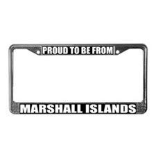 Marshall Islands License Plate Frame