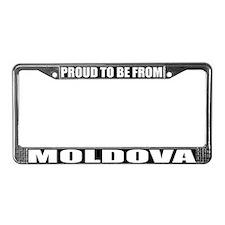 Moldova License Plate Frame