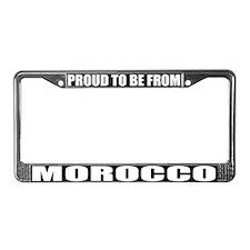 Morocco License Plate Frame