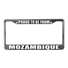 Mozambique License Plate Frame