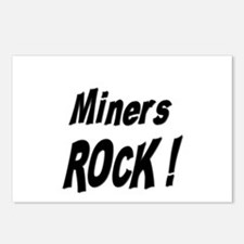 Miners Rock ! Postcards (Package of 8)