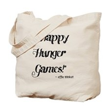 happy hunger games .gif Tote Bag