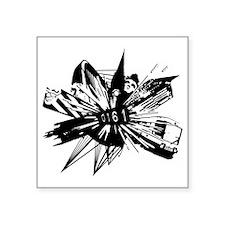 """0161-2012.gif Square Sticker 3"""" x 3"""""""