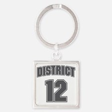 District12_6 Square Keychain