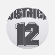 District12_6 Round Ornament