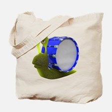 3d-snail-drum Tote Bag