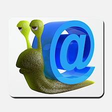 3d-snail-email Mousepad