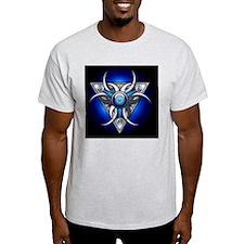Triple Goddess - blue - banner T-Shirt