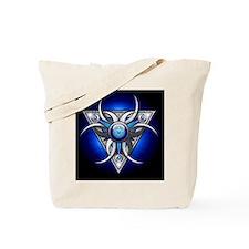 Triple Goddess - blue - stadium blanket Tote Bag
