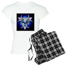 Triple Goddess - blue - gre Pajamas