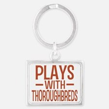 playsthoroughbreds Landscape Keychain