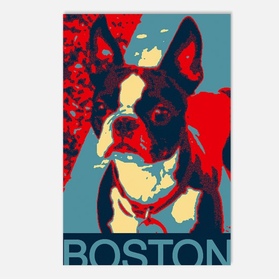 Perky BOSTON poster Postcards (Package of 8)