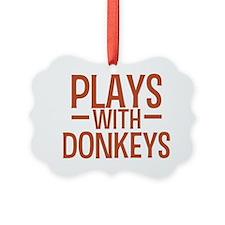 playsdonkeys Ornament