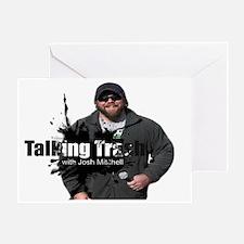 Talking Trash Greeting Card