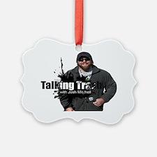 Talking Trash Ornament