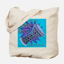 cheat sheet turquoise Tote Bag