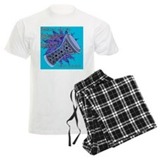 cheat sheet turquoise Pajamas