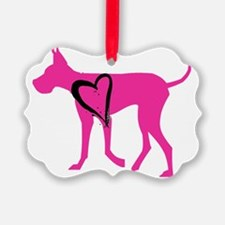Pink-Dane Ornament