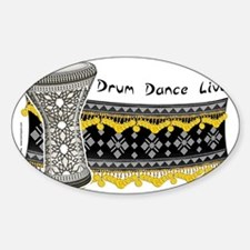 doumbek assuit HORIZONTAL Sticker (Oval)
