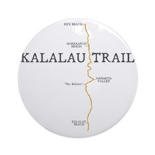 kalalau dark Round Ornament