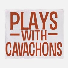 playscavachons Throw Blanket