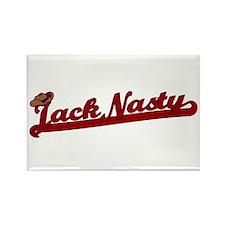 Jack Nasty Rectangle Magnet