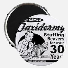 Big Willies Taxidermy  Magnet