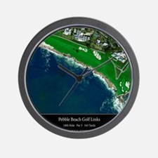 Pebble Beach 18th Hole Wall Clock