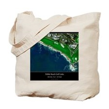 Pebble Beach 18th Hole Tote Bag