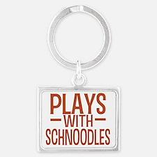 playsschnoodles Landscape Keychain