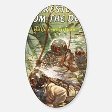 diving helmet book Decal