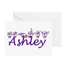 Ashley in ASL Greeting Cards (Pk of 10)