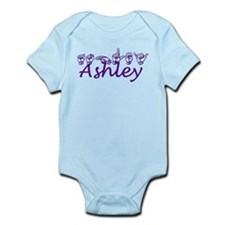 Ashley in ASL Infant Bodysuit
