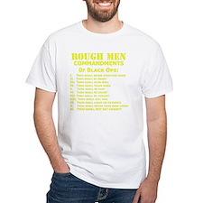Art_Black Ops Commandments_yellow Shirt