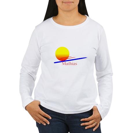 Mathias Women's Long Sleeve T-Shirt
