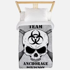 Zombie Response Team Anchorage Twin Duvet