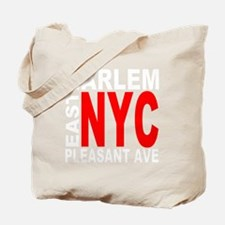 east harlem nyc(blk) Tote Bag