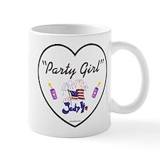 Party Girl USA - 4th of July Mug