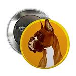 Fawn Boxer Head Study Button