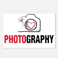 Love Photography Postcards (Package of 8)