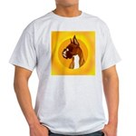 Fawn Boxer Head Study Light T-Shirt
