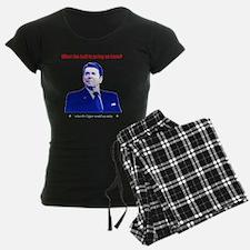 Ronald Reagan Today Dark Pajamas