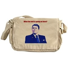 Ronald Reagan Today Dark Messenger Bag