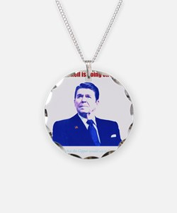 Ronald Reagan Today Dark Necklace