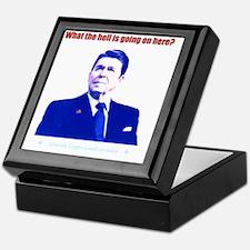 Ronald Reagan Today Dark Keepsake Box