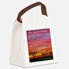 thelordsprayer_sunset Canvas Lunch Bag