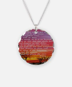 thelordsprayer_sunset Necklace