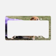 Ted3 poster done License Plate Holder
