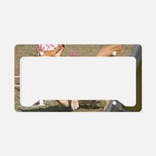 ted 2 poster done License Plate Holder