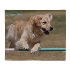 samantha 2 poster Throw Blanket